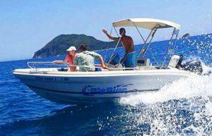 Ranieri Shark 19 | Big Blue Rentals Keri Zakynthos Greece