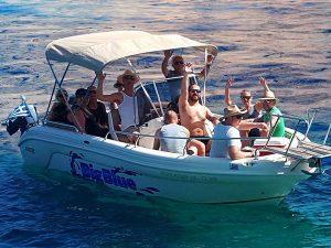 Ranieri Voyager 22 | Big Blue Rentals Keri Zakynthos Greece