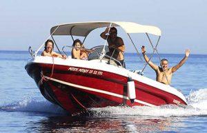 Ranieri Shark 19 | The Big Blue Boat Rentals Zakynthos