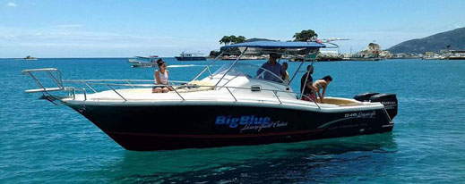Jeanneau Cap Camarat 925 | Big Blue Boat Rental Keri Zakynthos Greece
