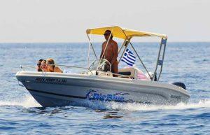 Ranieri Shark 17 | Big Blue Rental Keri Zakynthos Greece