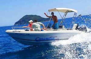 Ranieri Shark 19 | Big Blue Rental Keri Zakynthos Greece